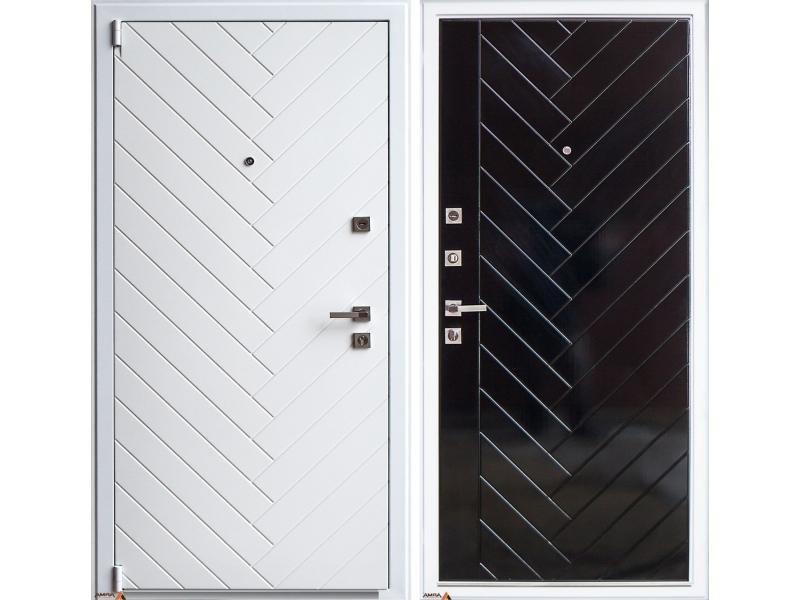 """Входная дверь АРМА """"Diagonal White"""""""