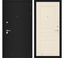 CLASSIC шагрень черная 03 - Крем софт