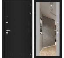 CLASSIC шагрень черная с Зеркалом Максимум - Софт Грей