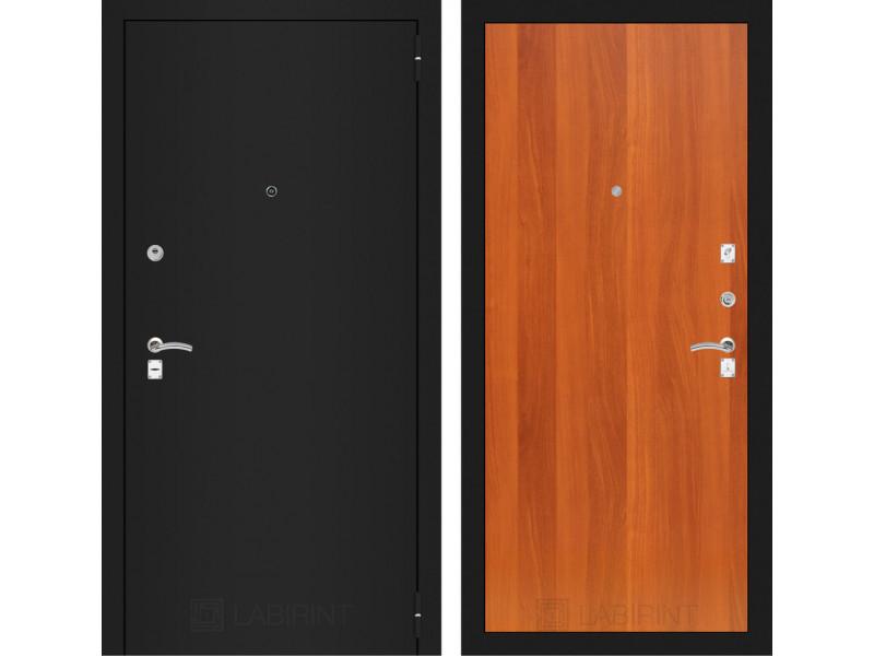 CLASSIC шагрень черная 05 - Итальянский орех