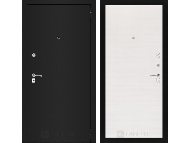 CLASSIC шагрень черная 07 - Перламутр горизонтальный