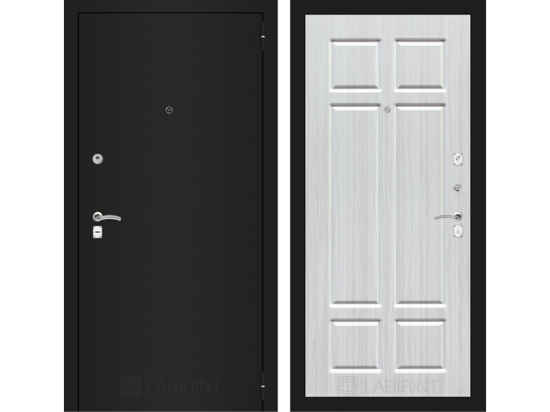 CLASSIC шагрень черная 08 - Кристалл вуд