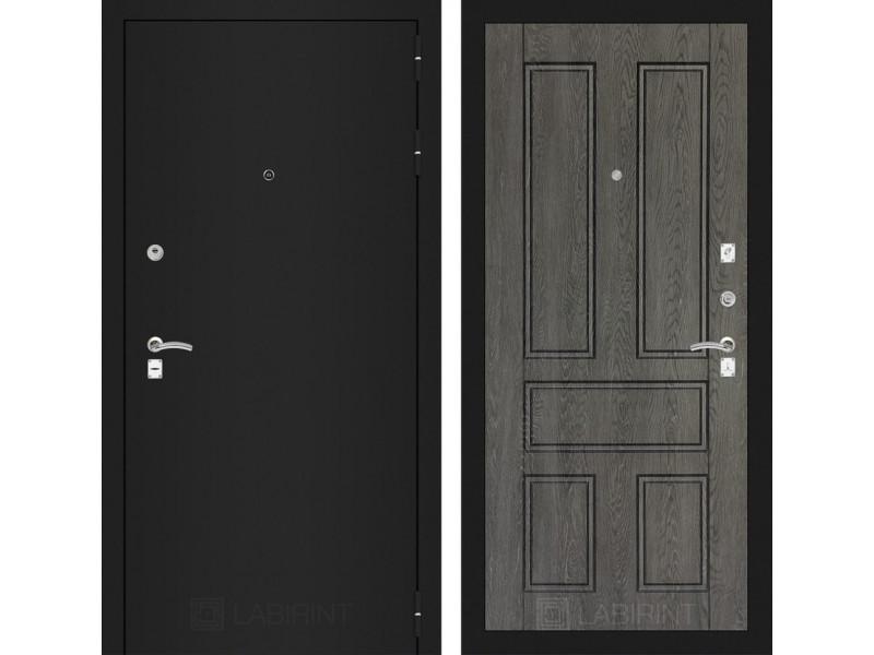 CLASSIC шагрень черная 10 - Дуб филадельфия графит