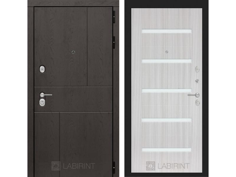 URBAN 01 - Сандал белый, стекло белое