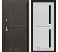 URBAN 02 - Сандал белый, стекло черное