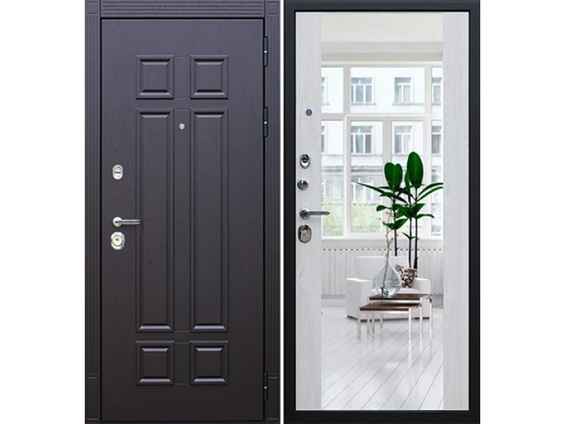 Входная дверь АСД Виват с зеркалом
