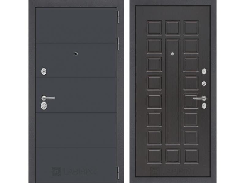 Входная дверь ART графит 04 - Венге
