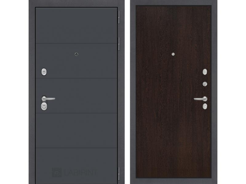 Входная дверь ART графит 05 - Венге