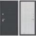 Входная дверь ART графит 06 - Сандал белый
