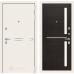 Входная дверь Лайн WHITE 02 - Венге, стекло белое