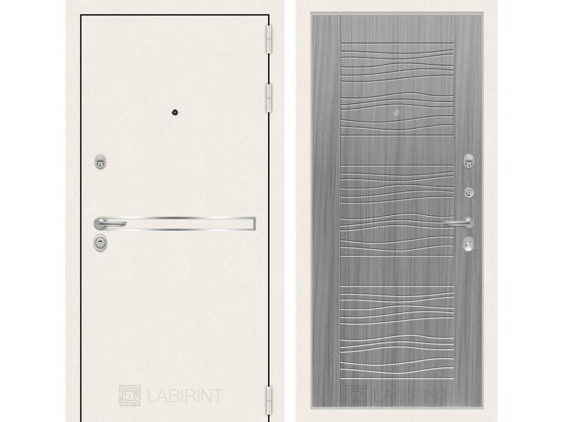 Входная дверь Лайн WHITE 06 - Сандал серый