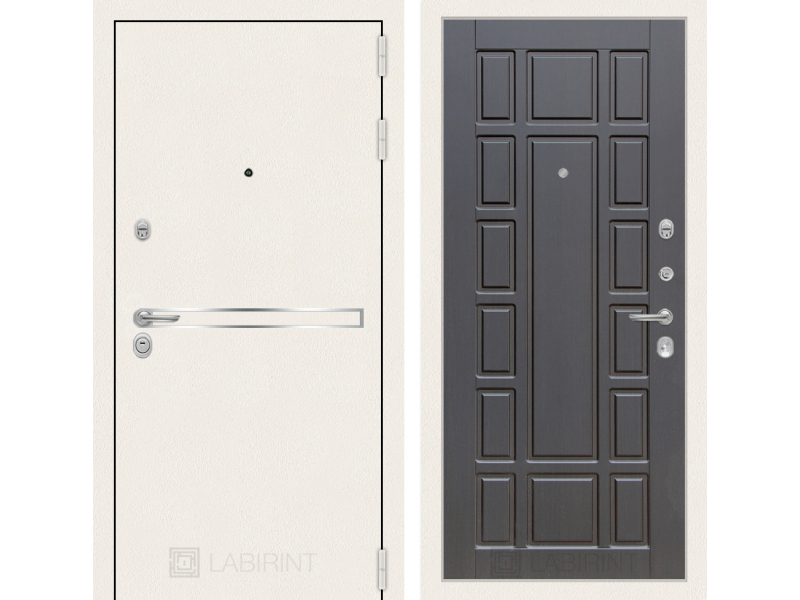 Входная дверь Лайн WHITE 12 - Венге