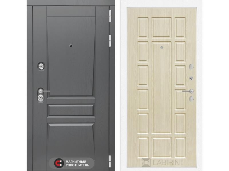 Входная дверь Платинум 12 - Беленый дуб