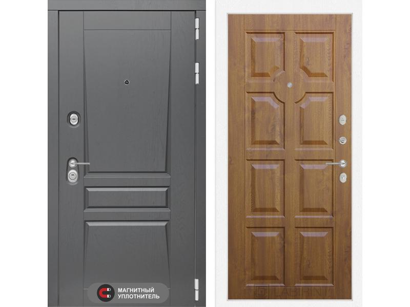 Входная дверь Платинум 17 - Золотой дуб