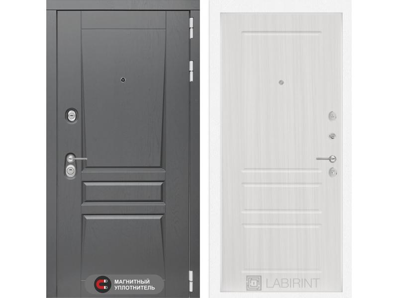 Входная дверь Платинум 03 - Сандал белый