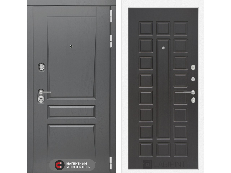 Входная дверь Платинум 04 - Венге