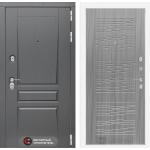 Входная дверь Платинум 06 - Сандал серый
