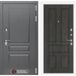 Входная дверь Платинум 10 - Дуб филадельфия графит