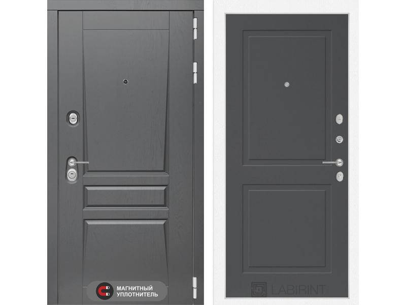 Входная дверь Платинум 11 - Графит софт