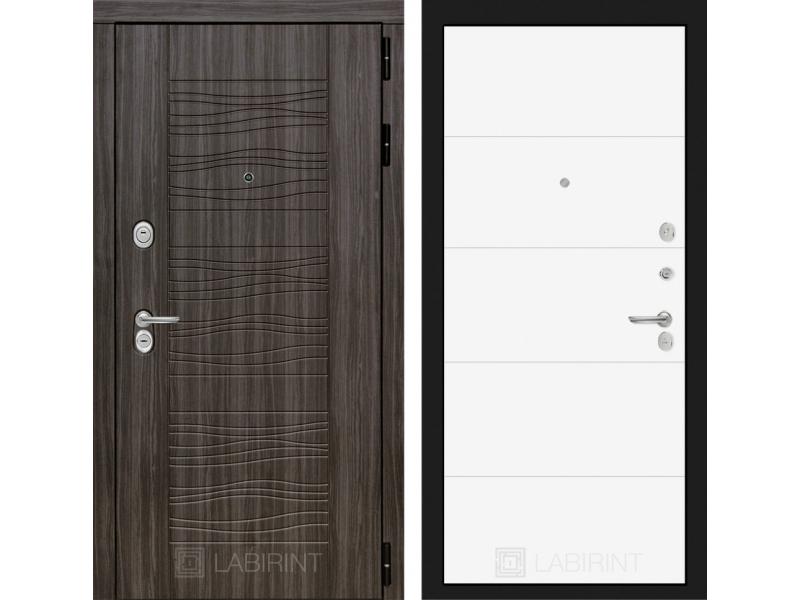 Входная дверь Сканди 13 - Белый софт