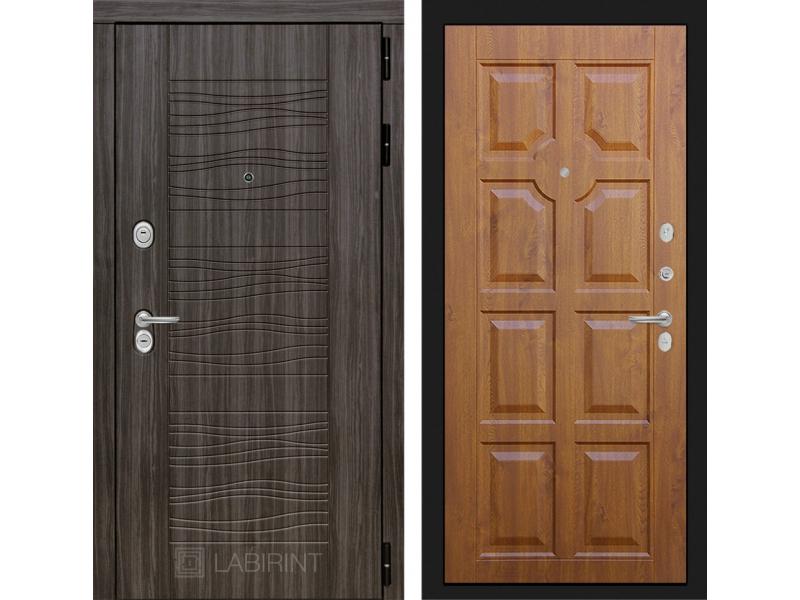 Входная дверь SCANDI 17 - Золотой дуб