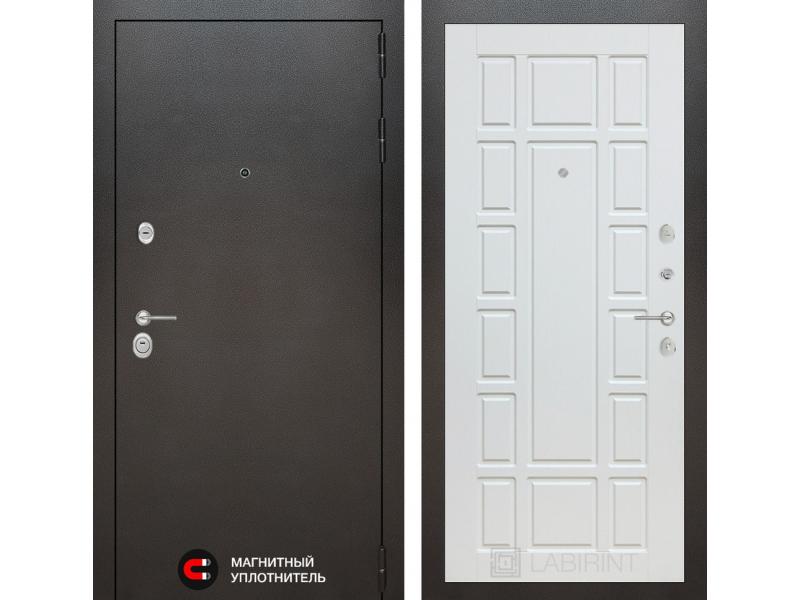 Входная дверь SIVLER 12 - Белое дерево