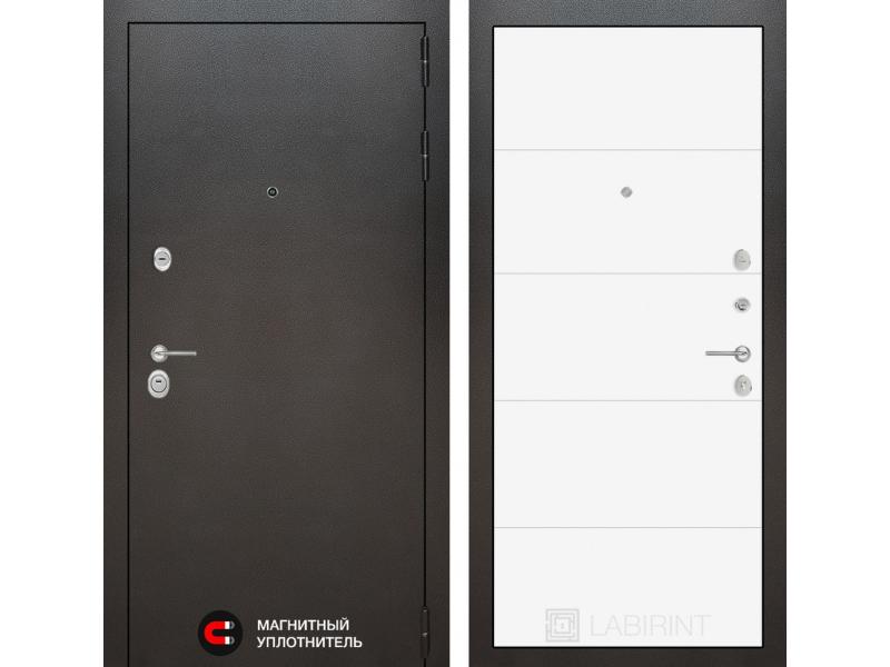 Входная дверь SILVER 13 - Белый софт