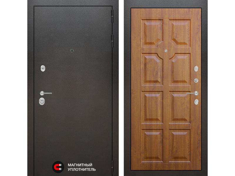Входная дверь SILVER 17 - Золотой дуб