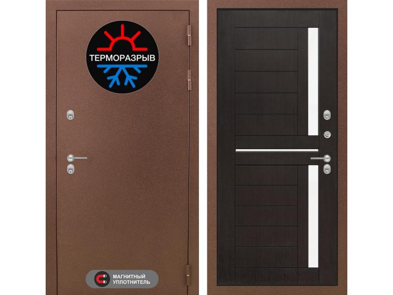 Входная дверь ТЕРМО Магнит 02 - Венге