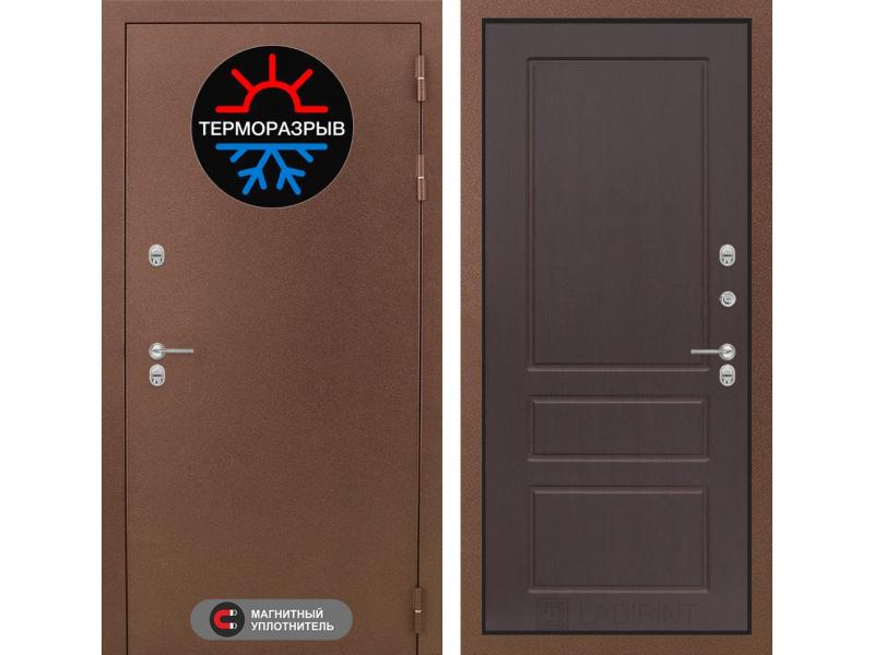 Входная дверь ТЕРМО Магнит 03 - Орех Премиум