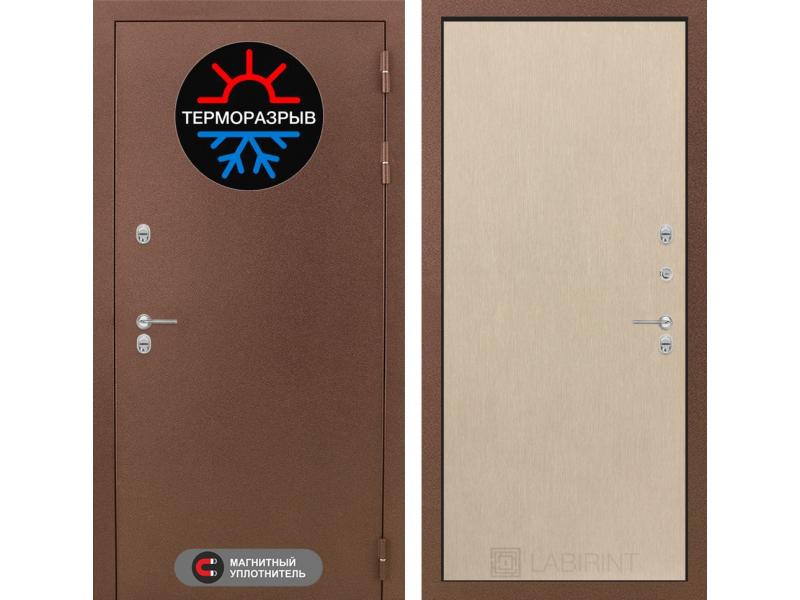 Входная дверь ТЕРМО Магнит 05 - Венге светлый