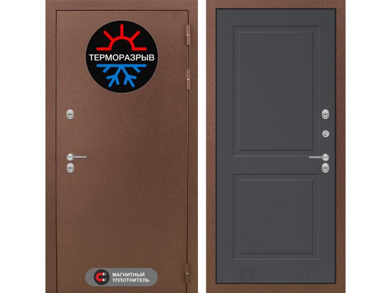 Входная дверь ТЕРМО Магнит 11 - Графит софт