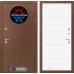 Входная дверь ТЕРМО Магнит 13 - Белый софт