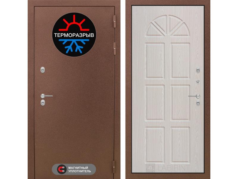 Входная дверь ТЕРМО Магнит 15 - Алмон 25
