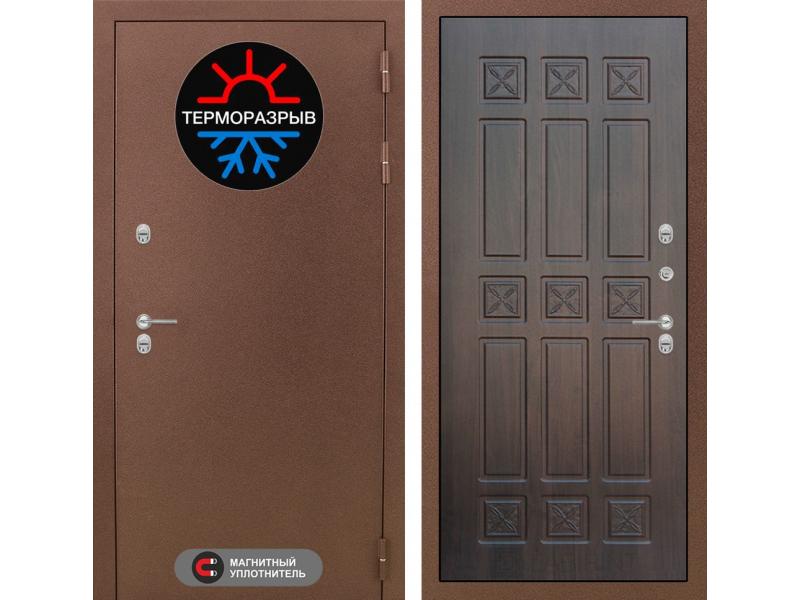 Входная дверь ТЕРМО Магнит 16 - Алмон 28